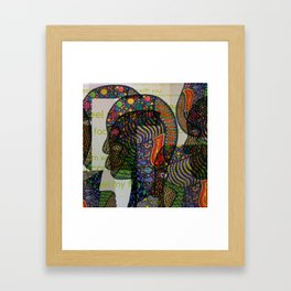 I Can't Feel My Face When I'm With You Framed Art Print