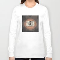 camera Long Sleeve T-shirts featuring Camera by Mr and Mrs Quirynen