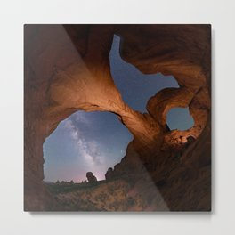 Double Arch in Arches National Park 2 Metal Print