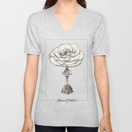 Blossoms of Civilizations Unisex V-Neck