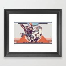 Mass Effect : Shep & Garrus v.2016 Framed Art Print
