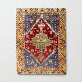 Çal Southwest Anatolian Rug Print Metal Print