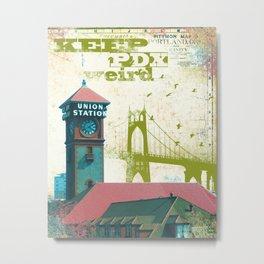 Portland Union Station Metal Print