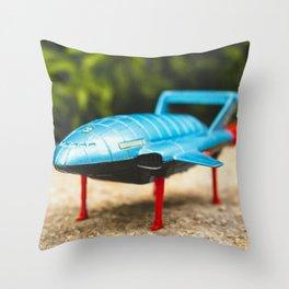 Lightning Bird Lift Off Throw Pillow