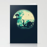 underwater Stationery Cards featuring The Big One by Jay Fleck