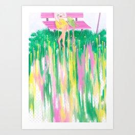 Standstill Art Print