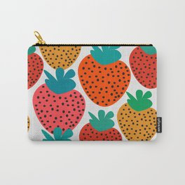Funny strawberries Carry-All Pouch