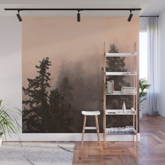 Deep in Thought - Forest Nature Photography Wall Mural