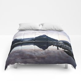 Sunset to die for at Milford Sound Comforters