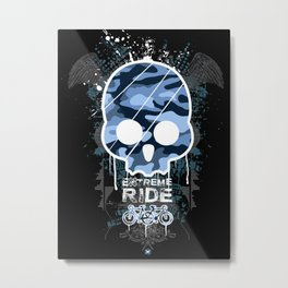 Extreme ride Metal Print