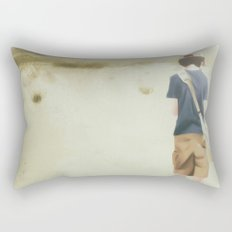 Distant Rectangular Pillow