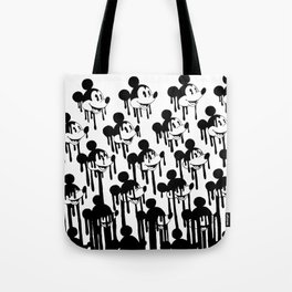 Mickey mouse erased Tote Bag