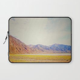 Death Valley in Yellow Laptop Sleeve