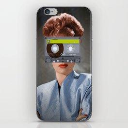 Ojos de casette iPhone Skin