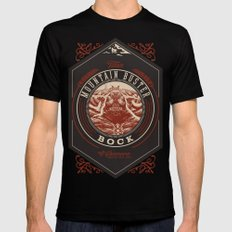 Mountain Buster Bock | FFXIV Mens Fitted Tee Black 2X-LARGE