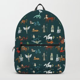 Creatures pattern Backpack