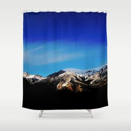 Breaking Dawn in the Canadian Rockies Shower Curtain