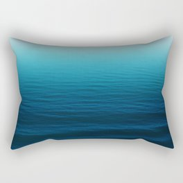 Deep Blue Sea Rectangular Pillow