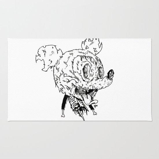 Zombie Mickey Rug