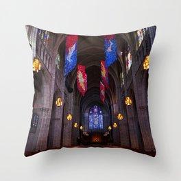 Princeton University Chapel Throw Pillow