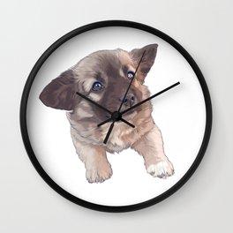 Little Puppy Wall Clock