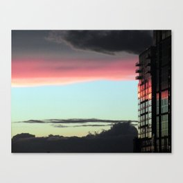 """Sunrise in the City"" Canvas Print"