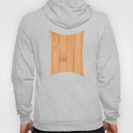 Cool elegant light brown bamboo wood print Hoodie