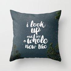 A New Life Throw Pillow