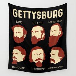 Battle Of Gettysburg American Civil War History Reenactment Gift Wall Tapestry