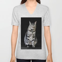 Who goes there Unisex V-Neck