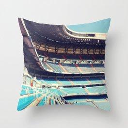 Estadio Santiago Bernabéu Throw Pillow
