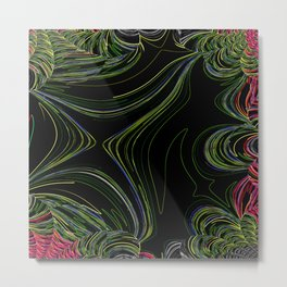Rainforest abstract Metal Print