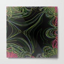 Rainforest abstract Metal Print