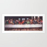 Lego: Last Supper Art Print