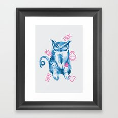 Hybrid Animal 1: GUFONIGLIO Framed Art Print