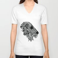 marley V-neck T-shirts featuring Fourrester meets marley by Fourrester4