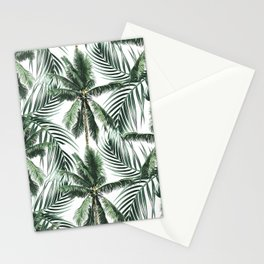 South Pacific palms Stationery Cards