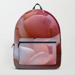 Pale Pink Rose Flower Close-up Backpack