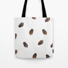 Cone Pattern Tote Bag