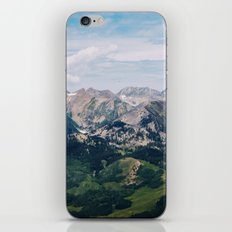 Going to the Mountains iPhone & iPod Skin