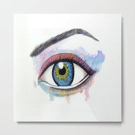 my eyes on you Metal Print
