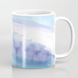 Blue Abstract Agate Coffee Mug