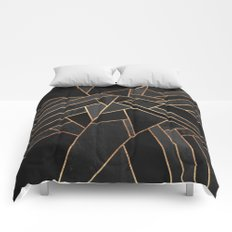Black Night Comforters