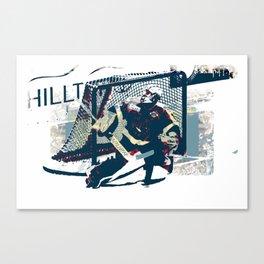 Goalie - Ice Hockey Player Canvas Print