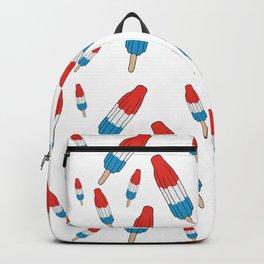 Bomb Pops Ice Cream Pattern Backpack