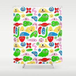 Monster Goop Shower Curtain
