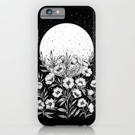 Moon Greeting iPhone Case
