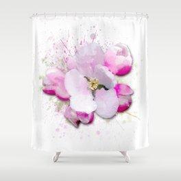 Blossom Flower Shower Curtain