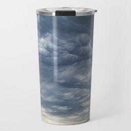 Storms over Nebraska Plains Travel Mug