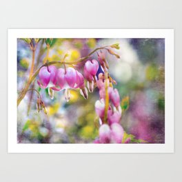 Happy Hearts Art Print